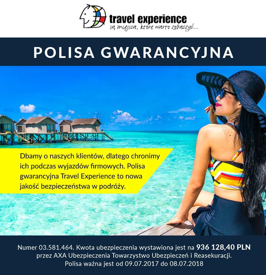 Nowa Polisa Gwarancyjna w Travel Experience!